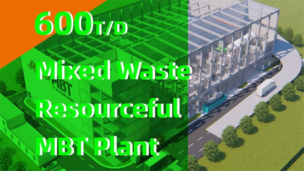 Singapore SRF Production and Solid Waste Recycling Plant supported by JONO Enviro